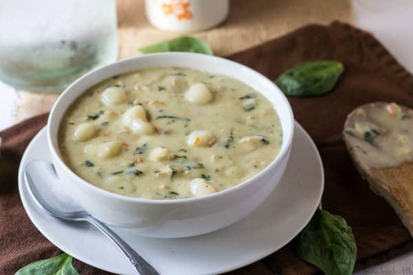 Olive Garden Chicken Gnocchi Soup  Olive Garden Chicken Gnocchi Soup The Perfect Olive