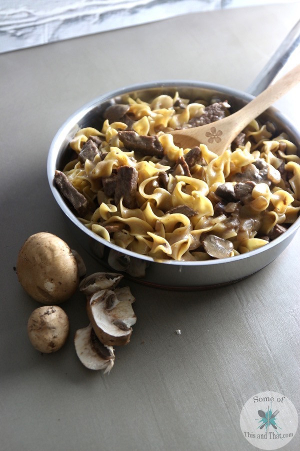 One Pot Beef Stroganoff e Pot Beef Stroganoff Some of This and That