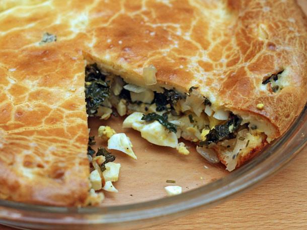 Onion Pie Recipe  Kale and ion Pie Recipe