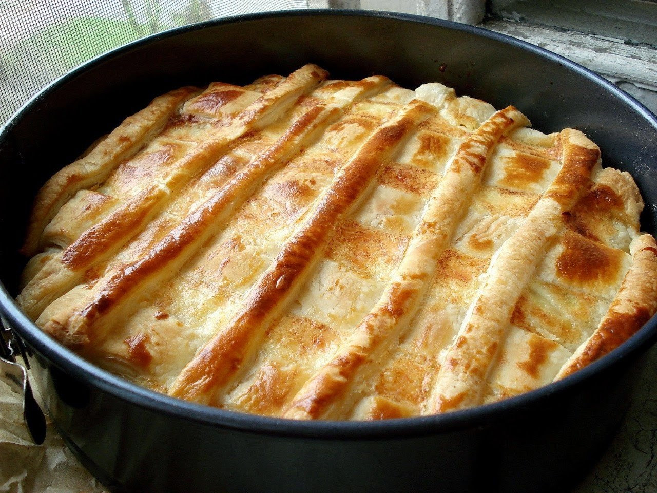 Onion Pie Recipe  Zwiebelkuchen ion Pie Recipe Food Network Recipes
