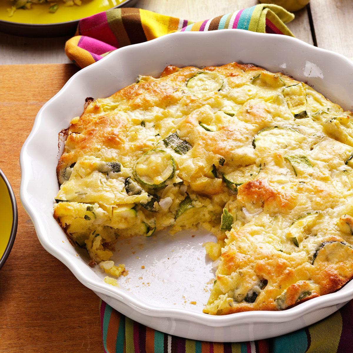 Onion Pie Recipe  Zucchini ion Pie Recipe