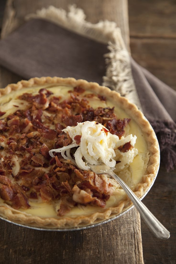 Onion Pie Recipe  1000 ideas about ion Pie on Pinterest
