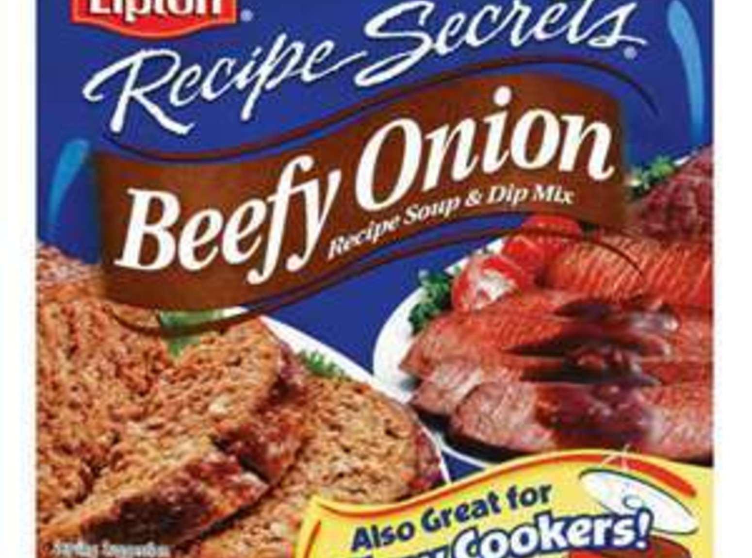 Onion Soup Mix Recipe  Beefy Minced ion Soup Mix Recipe