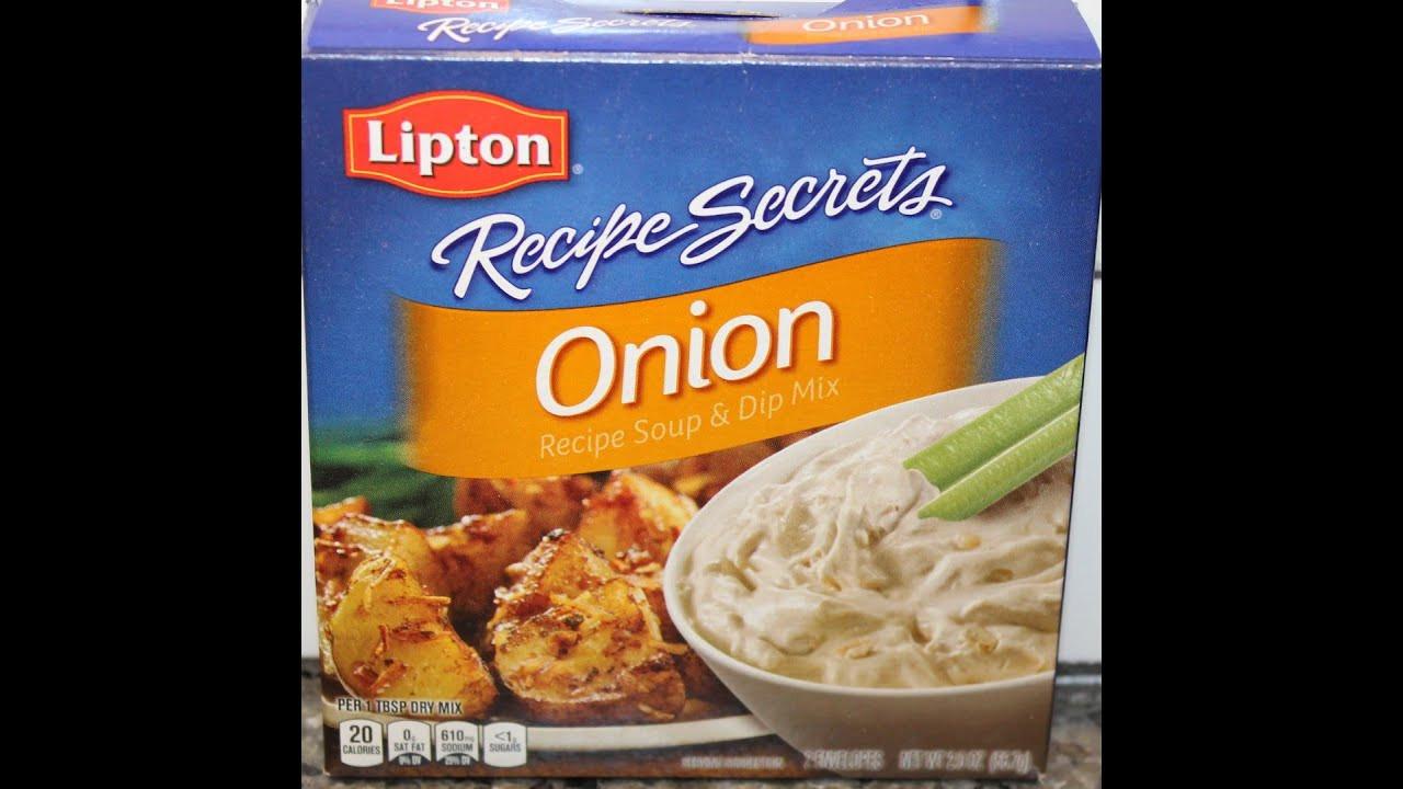 Onion Soup Mix Recipe  lipton onion soup mix potatoes