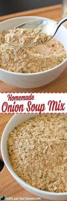 Onion Soup Mix Recipe  Best ion Soup Mix Recipe on Pinterest