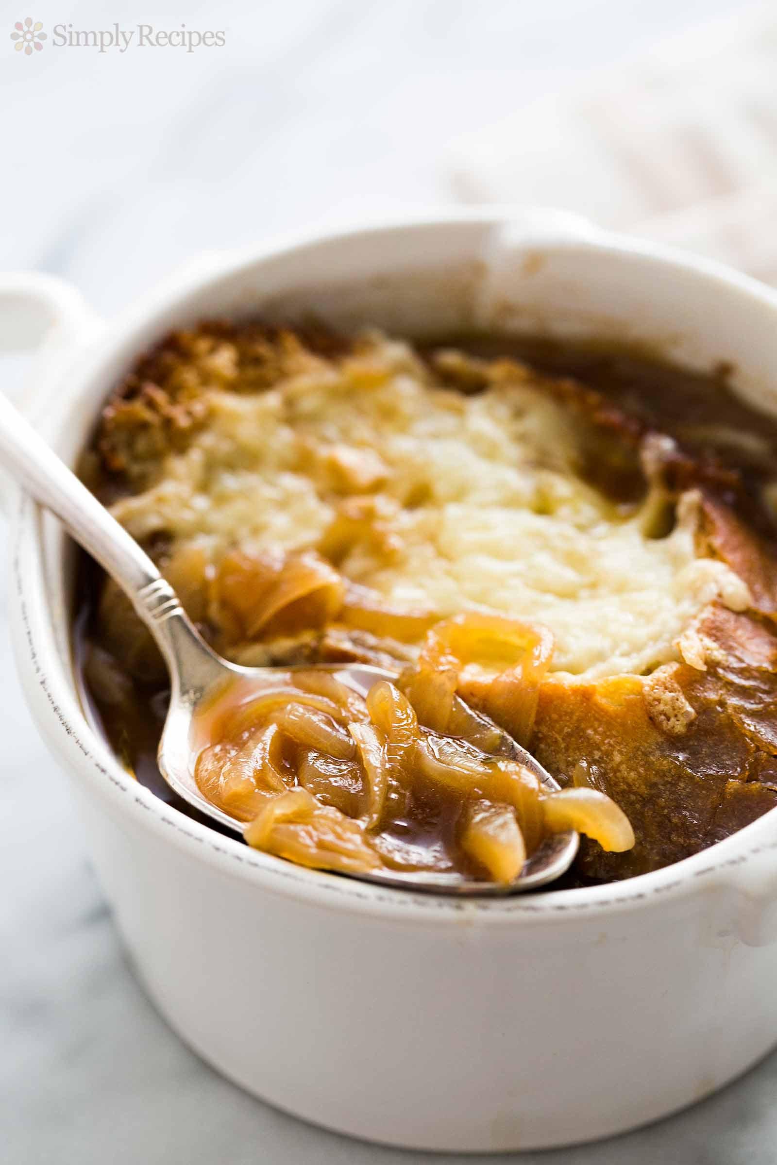 Onion Soup Recipes  French ion Soup Recipe