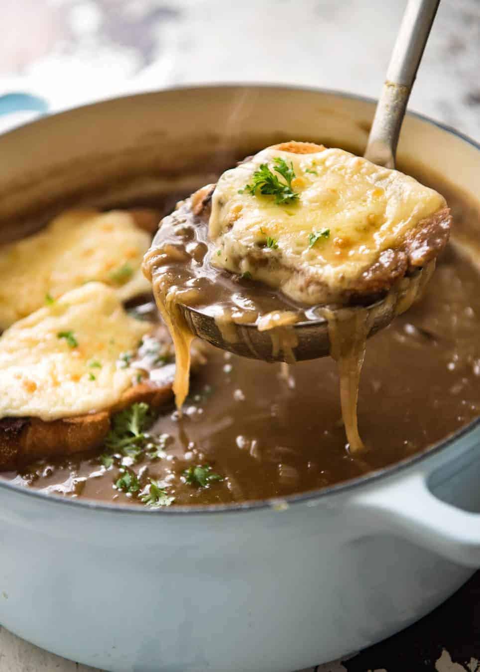 Onion Soup Recipes  French ion Soup