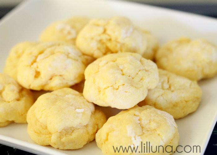 Ooey Gooey Butter Cookies  Gooey Butter Cookies Recipe