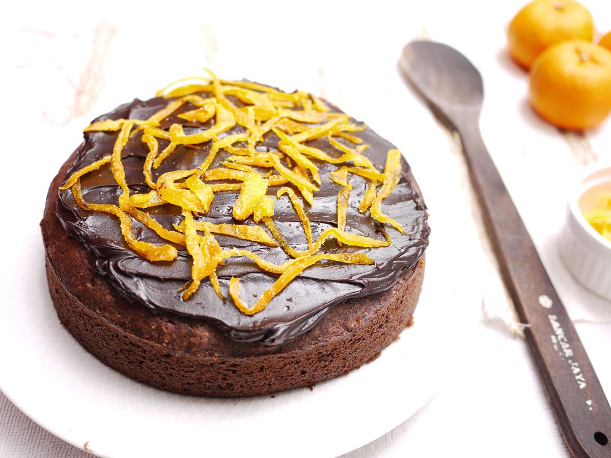 Orange Chocolate Cake  Chocolate Orange Cake