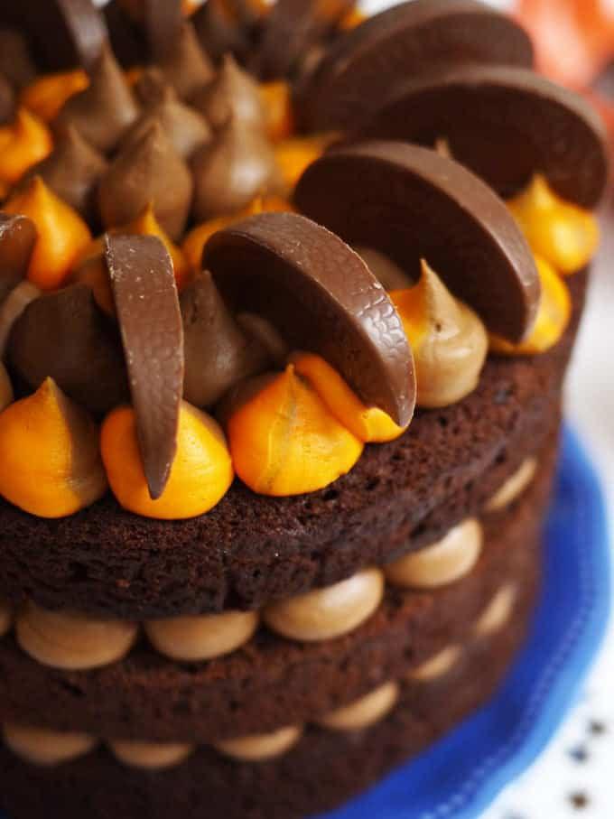 Orange Chocolate Cake  Chocolate Orange Cake Recipe The Ultimate Layer Cake