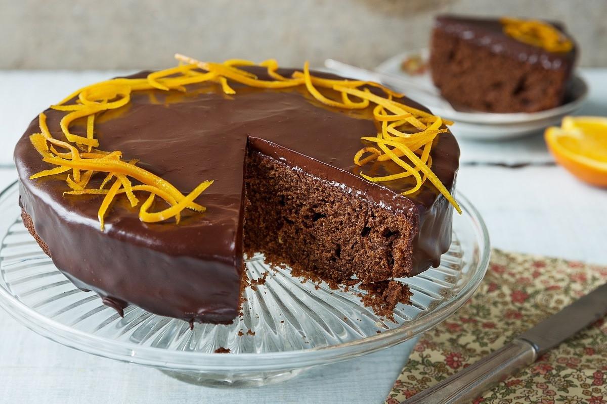 Orange Chocolate Cake  Chocolate Orange Cake Recipe