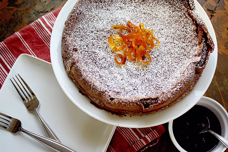 Orange Chocolate Cake  Not Quite Nigella But Her Flourless Chocolate Orange Cake
