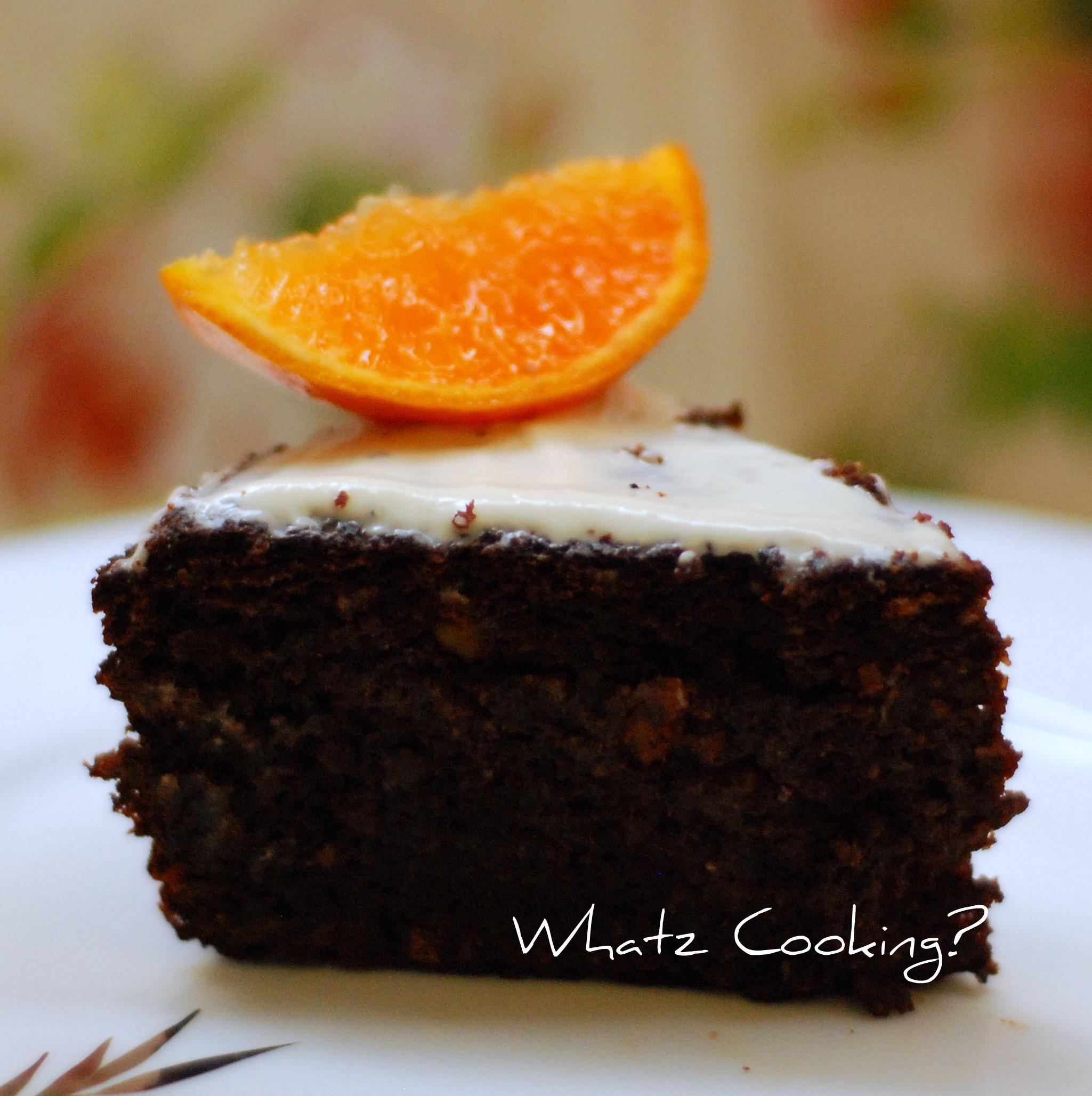 Orange Chocolate Cake  Chocolate Orange Cake What s Cooking