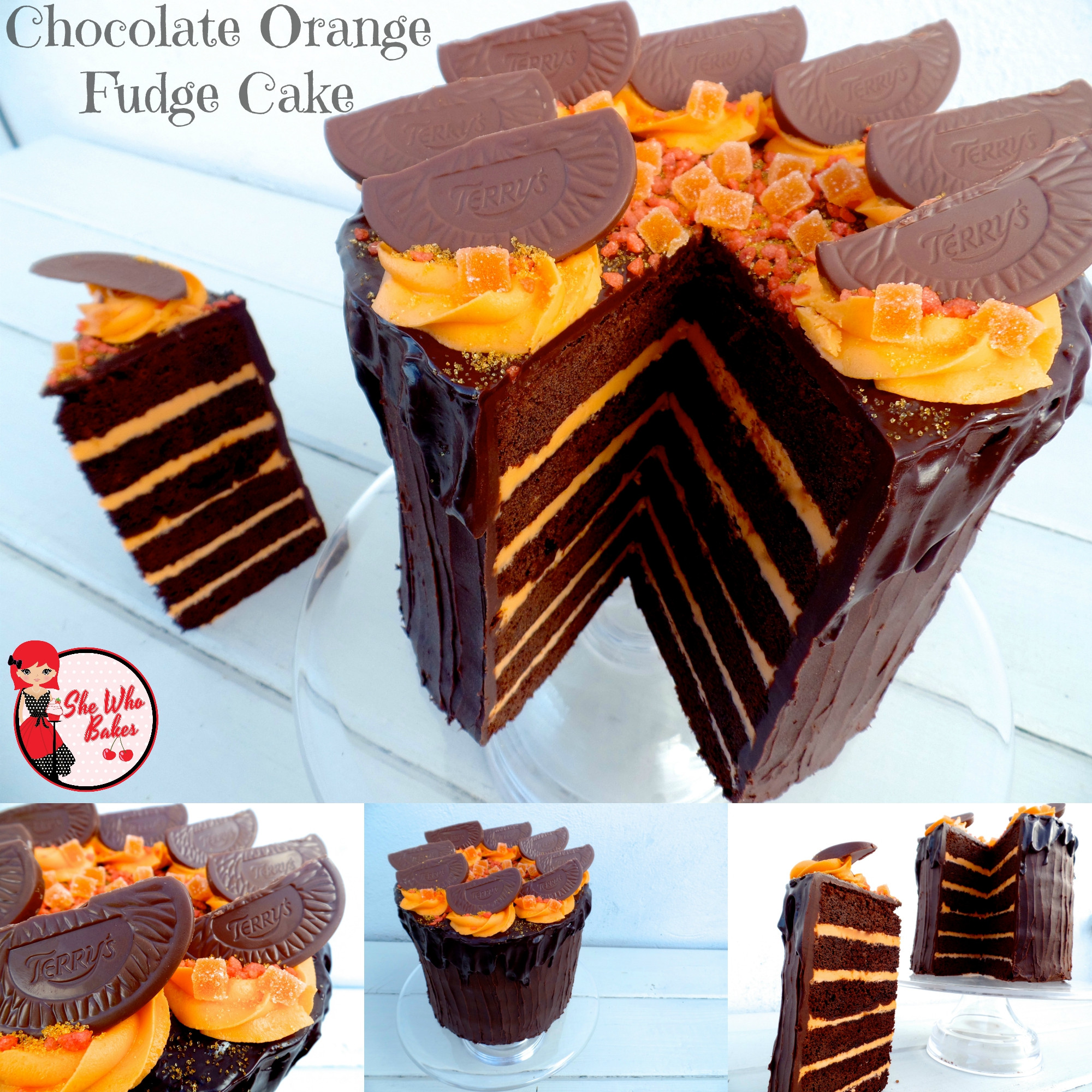 Orange Chocolate Cake  Chocolate Orange Fudge Cake Cake It To The Max