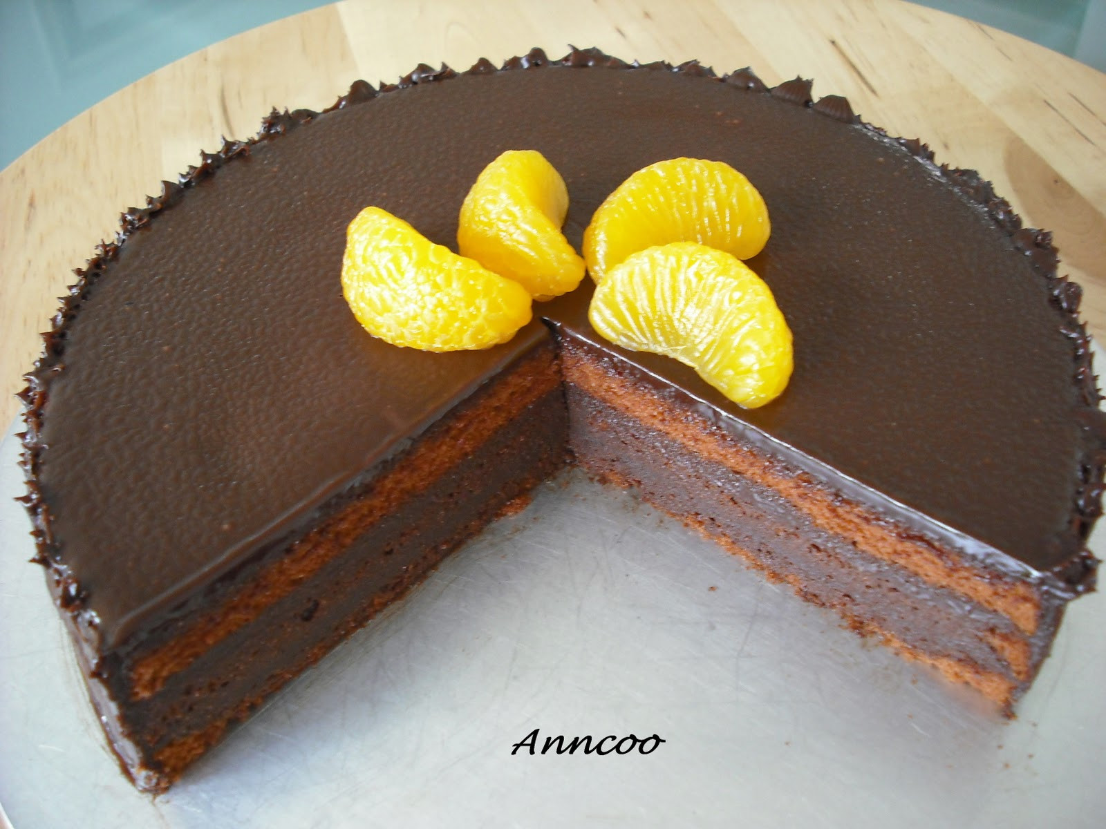 Orange Chocolate Cake  Orange Chocolate Cake Anncoo Journal