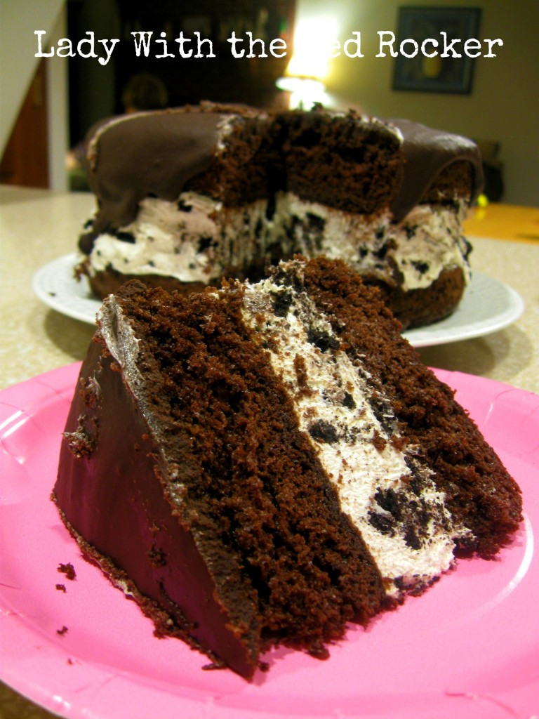 Oreo Cake Recipe  Chocolate Oreo Cream Birthday Cake