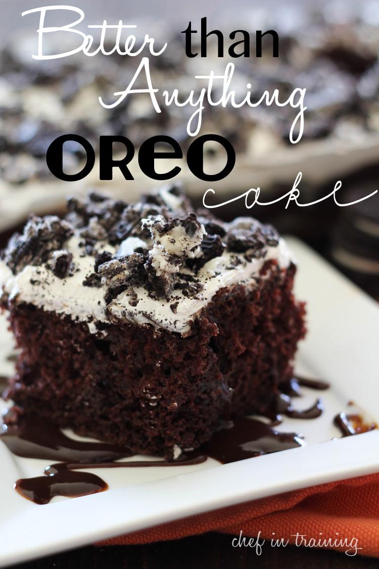 Oreo Cake Recipe  Better than Anything Oreo Cake Chef in Training