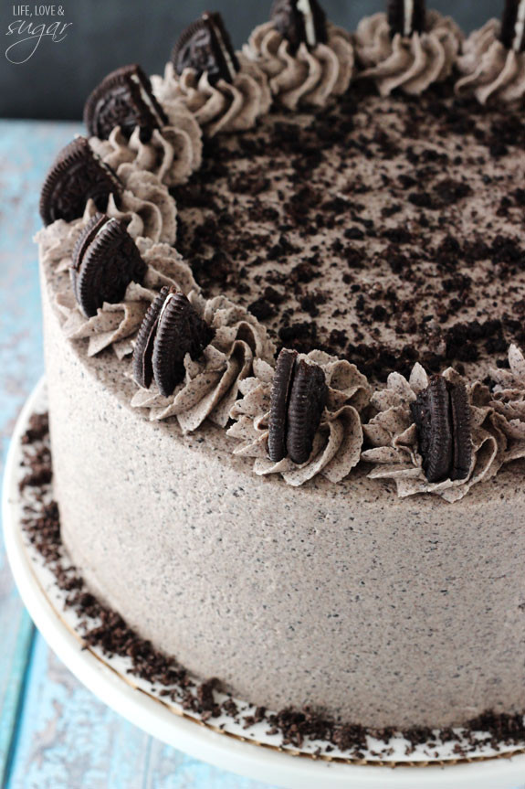 Oreo Cake Recipe  Chocolate Oreo Cake Life Love and Sugar