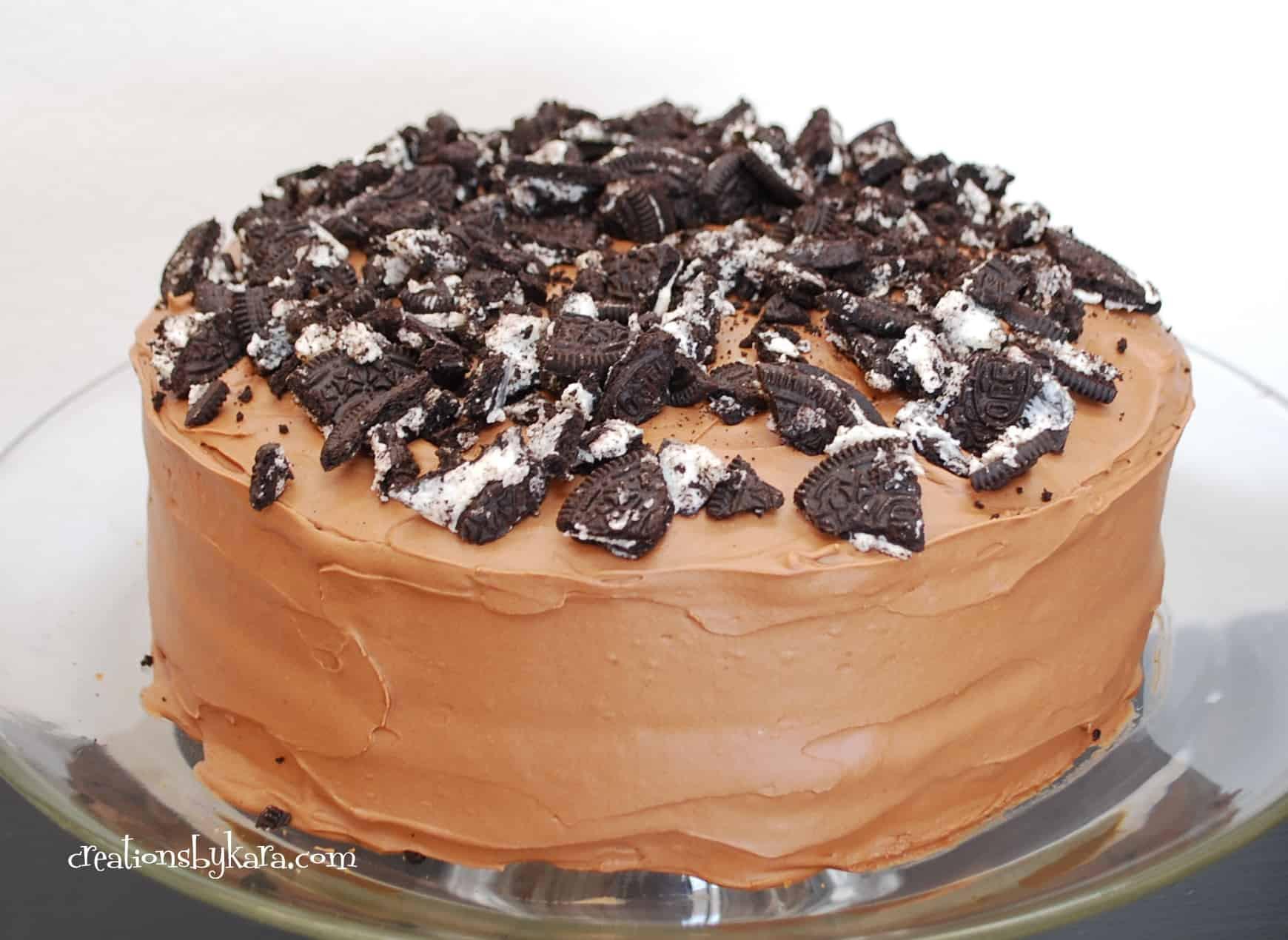 Oreo Cake Recipe  Oreo Cake Recipe