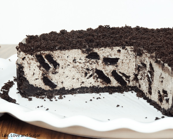 Oreo Cheesecake Recipe  No Bake Oreo Cheesecake Life Love and Sugar