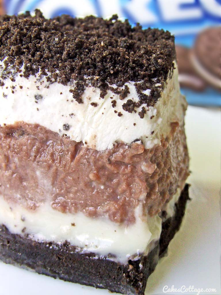 Oreo Dessert Recipes  Oreo Delight with Chocolate Pudding Cakescottage