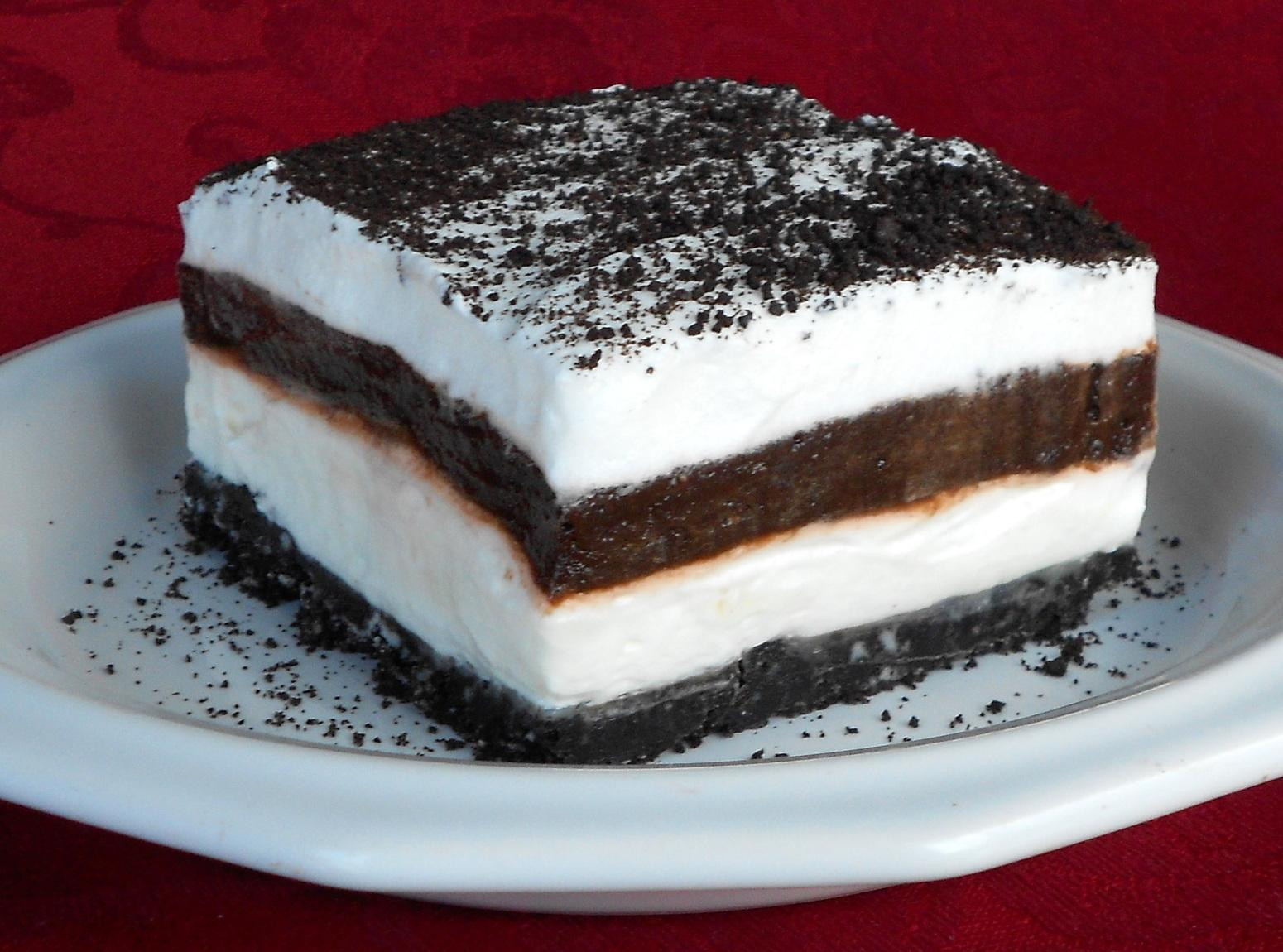 Oreo Dessert Recipes  Layered Oreo Dessert Recipe