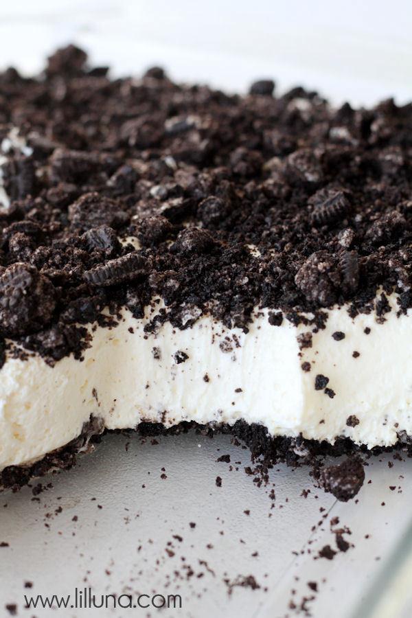 Oreo Dirt Cake Recipe  Oreo Dirt Cake recipe