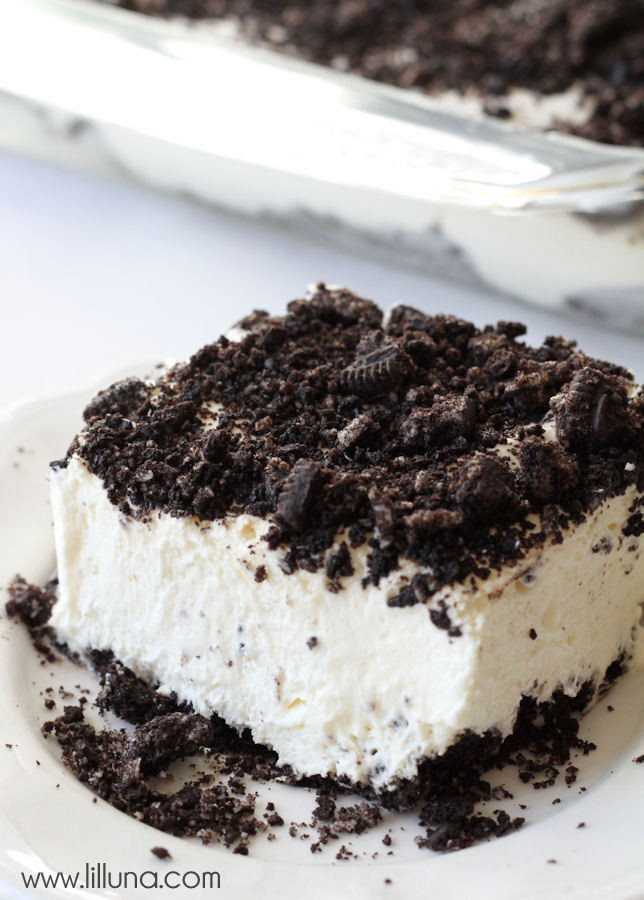 Oreo Dirt Cake Recipe  Delicious Oreo Dirt Cake Recipe VIDEO