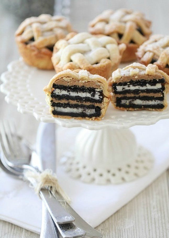 Oreo Peanut Butter Pie  31 Mini Pies to Try This Fall