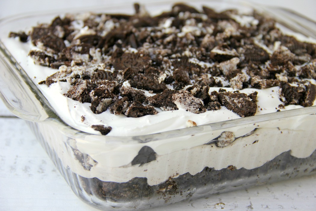 Oreo Pudding Dessert  Cookies and Cream Oreo Dessert Bitz & Giggles