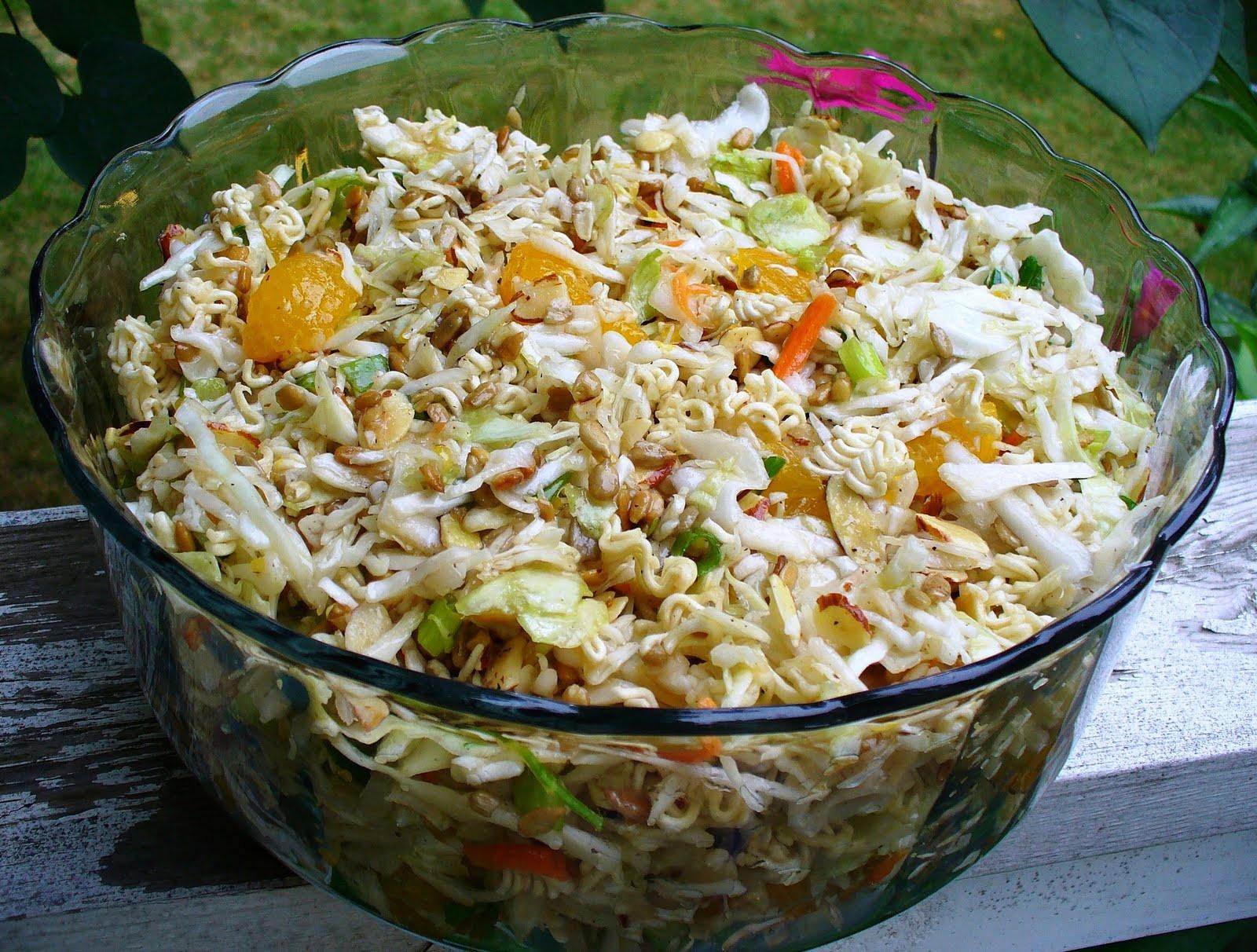 Oriental Salad With Ramen Noodles  Leenee s Sweetest Delights Oriental Salad