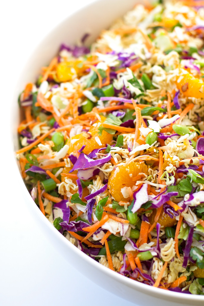 Oriental Salad With Ramen Noodles  Asian Ramen Noodle Salad Recipe