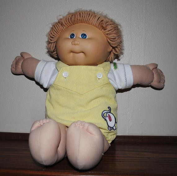 Original Cabbage Patch Kids  Original Cabbage Patch kid Doll 1982