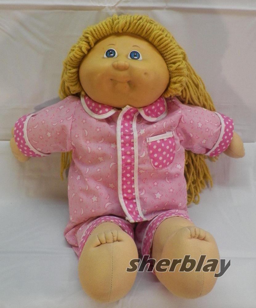 Original Cabbage Patch Kids  Vintage Original 1985 Cabbage Patch Kids Doll with 2005