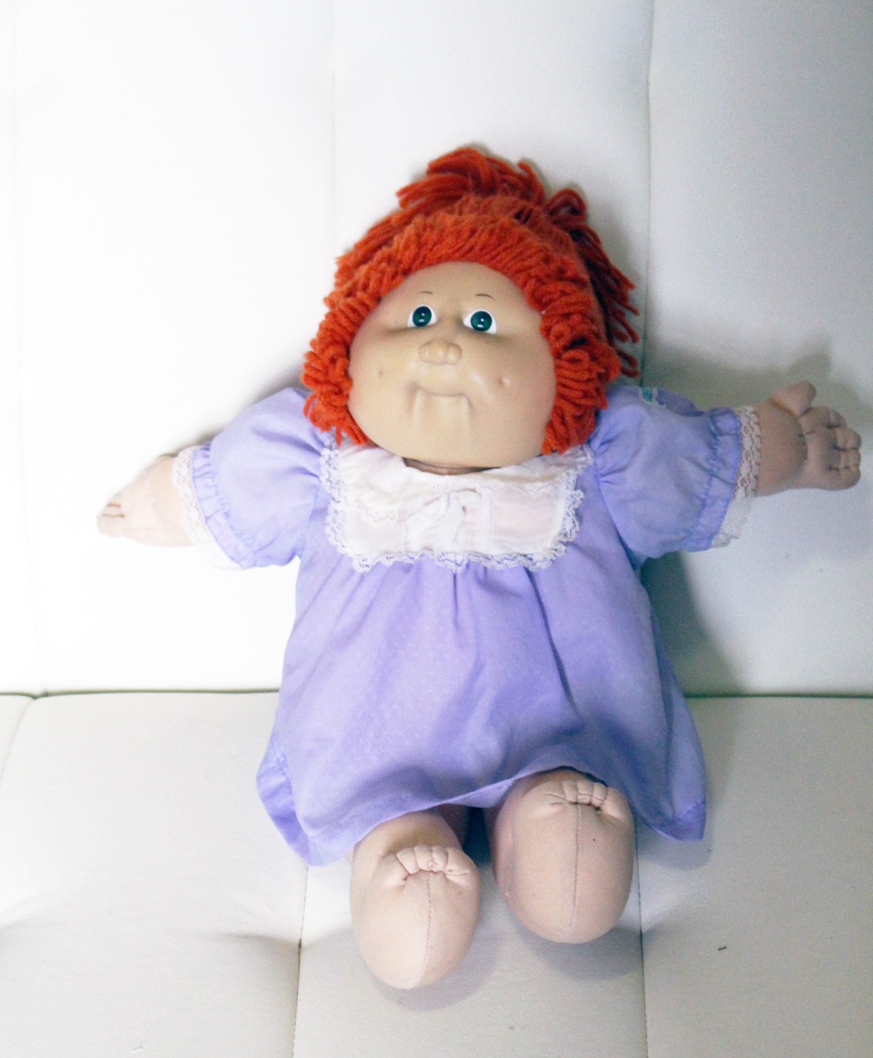 Original Cabbage Patch Kids  ORIGINAL RED HAIRED CABBAGE PATCH KIDS DOLL XAVIER ROBERTS