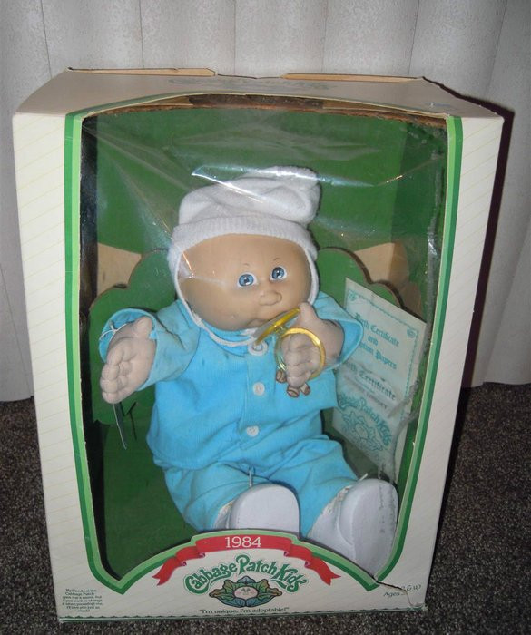 Original Cabbage Patch Kids  What Your Old Toys Are Worth