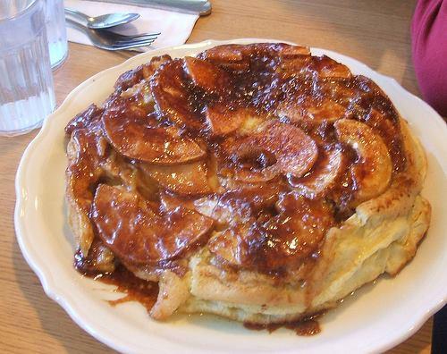 Original House Of Pancakes  The Ultimate Apple Pancake Recipe