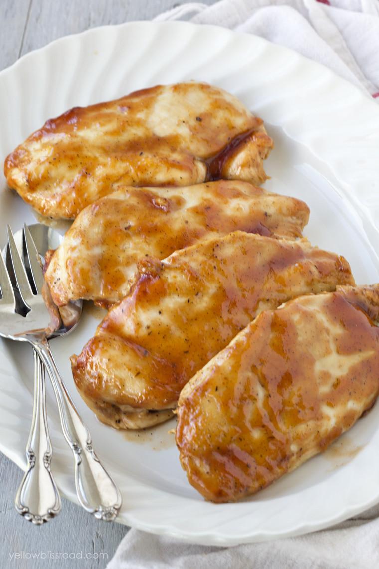 Oven Baked Bbq Boneless Chicken Breast  Easy Baked BBQ Chicken Breast Recipe Oven Barbecue Chicken