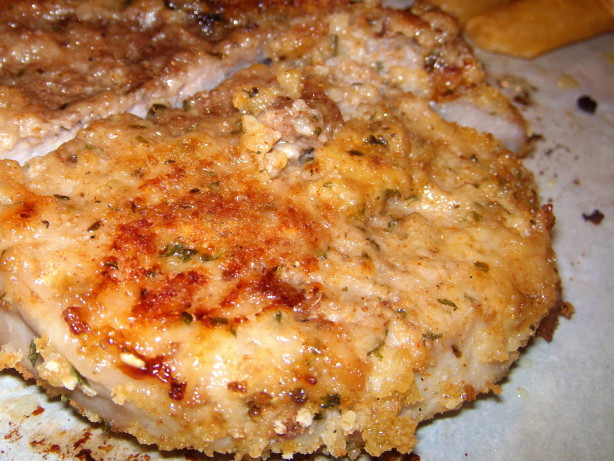 Oven Baked Breaded Pork Chops  Breaded Pork Chops From The Oven Recipe Food