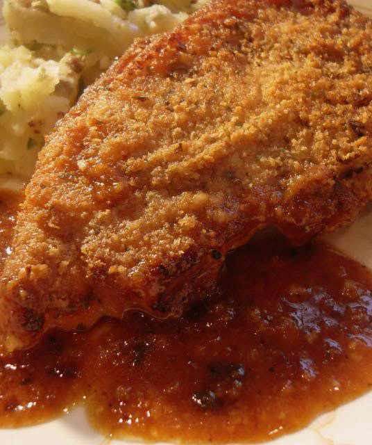 Oven Baked Breaded Pork Chops  The English Kitchen Oven Baked Breaded Pork Chops