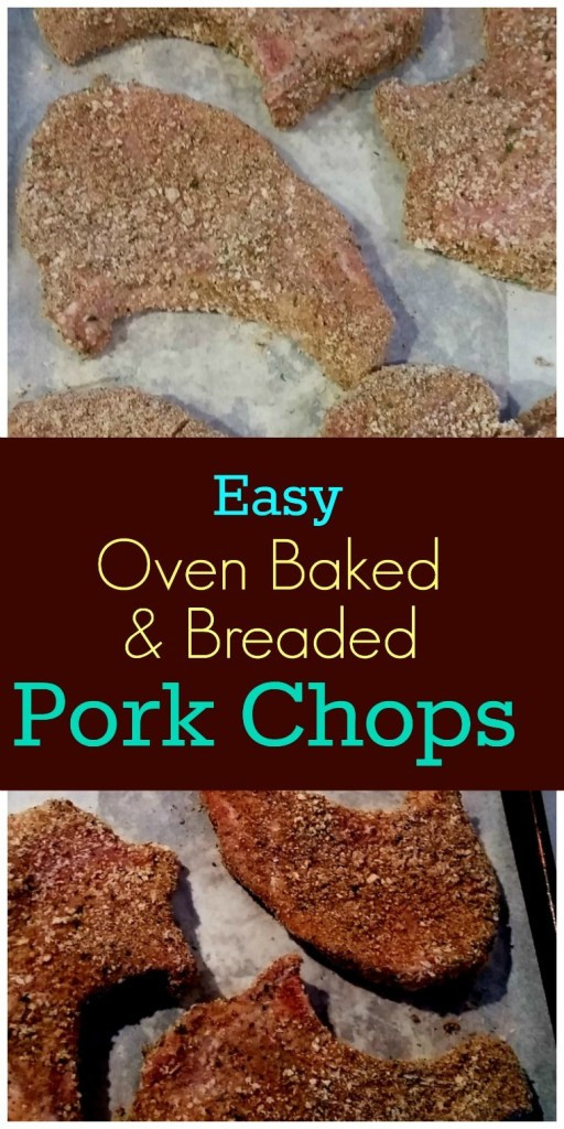 Oven Baked Breaded Pork Chops  Easy Oven Baked & Breaded Pork Chops SundaySupper
