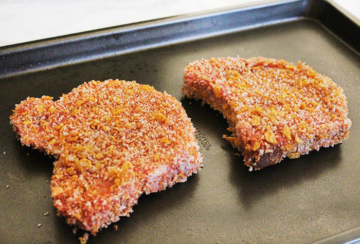 Oven Baked Breaded Pork Chops  Country Oven Fried Pork Chops Recipe • Southern Style