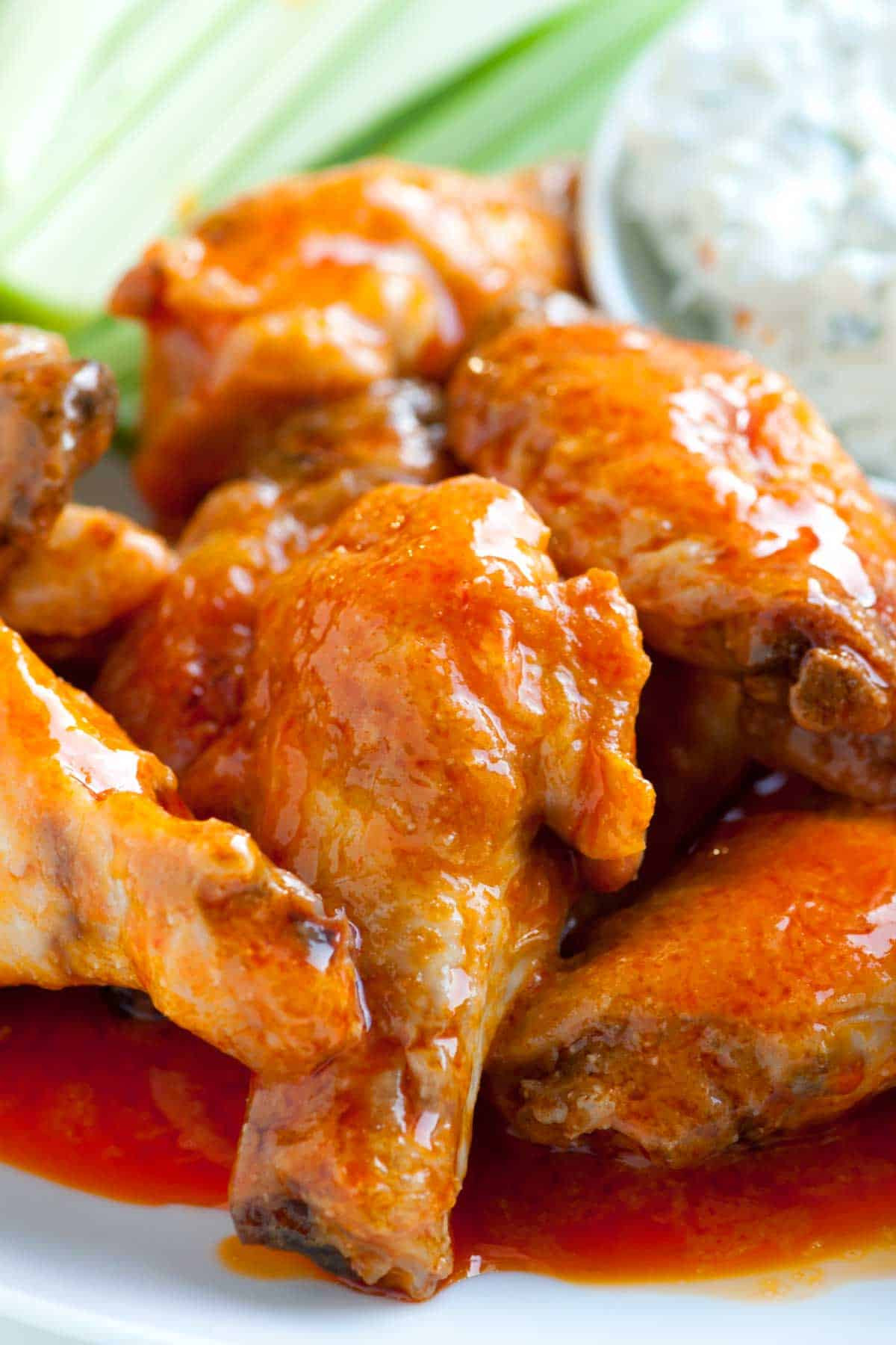 Oven Baked Chicken Wings Recipe  How to Make Crispy Baked Chicken Hot Wings