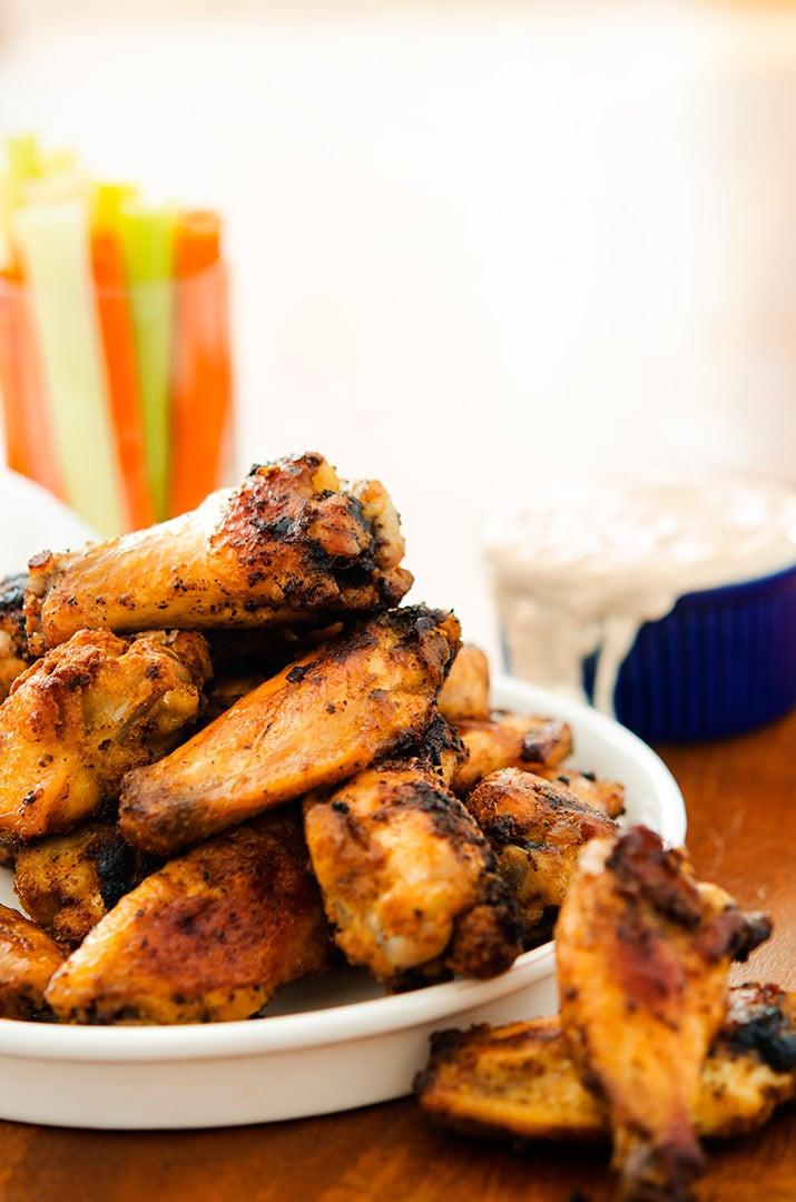 Oven Baked Chicken Wings Recipe  Crispy Baked Chicken Wings