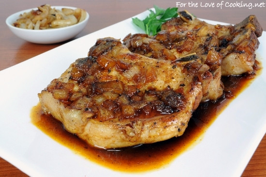 Oven Baked Pork Chops  Pork Chops with a Maple Sauce