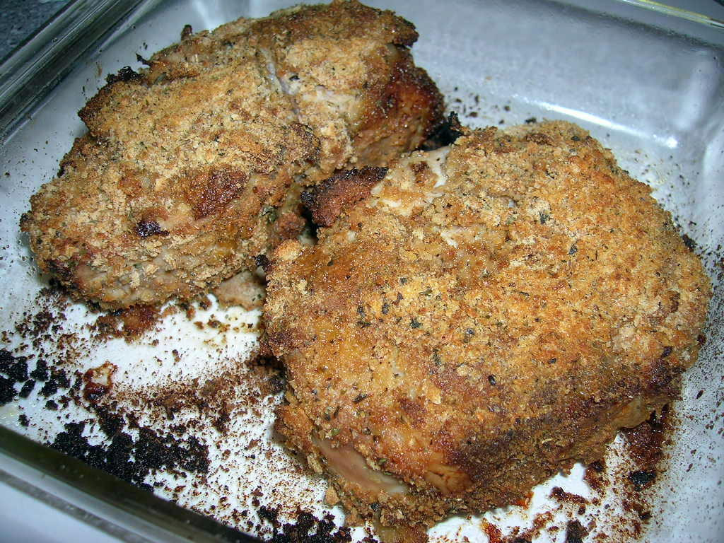 Oven Cooked Pork Chops  The Southern Lady Cooks – OVEN BAKED PORK CHOPS