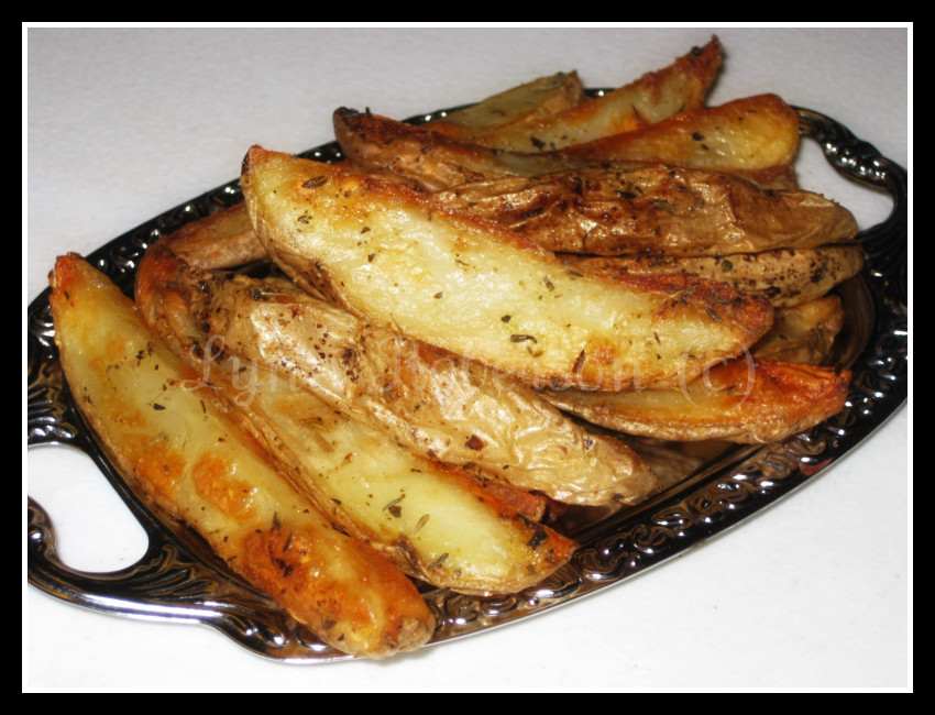 Oven Potato Wedges  Bites and Pieces Oven baked potato wedges