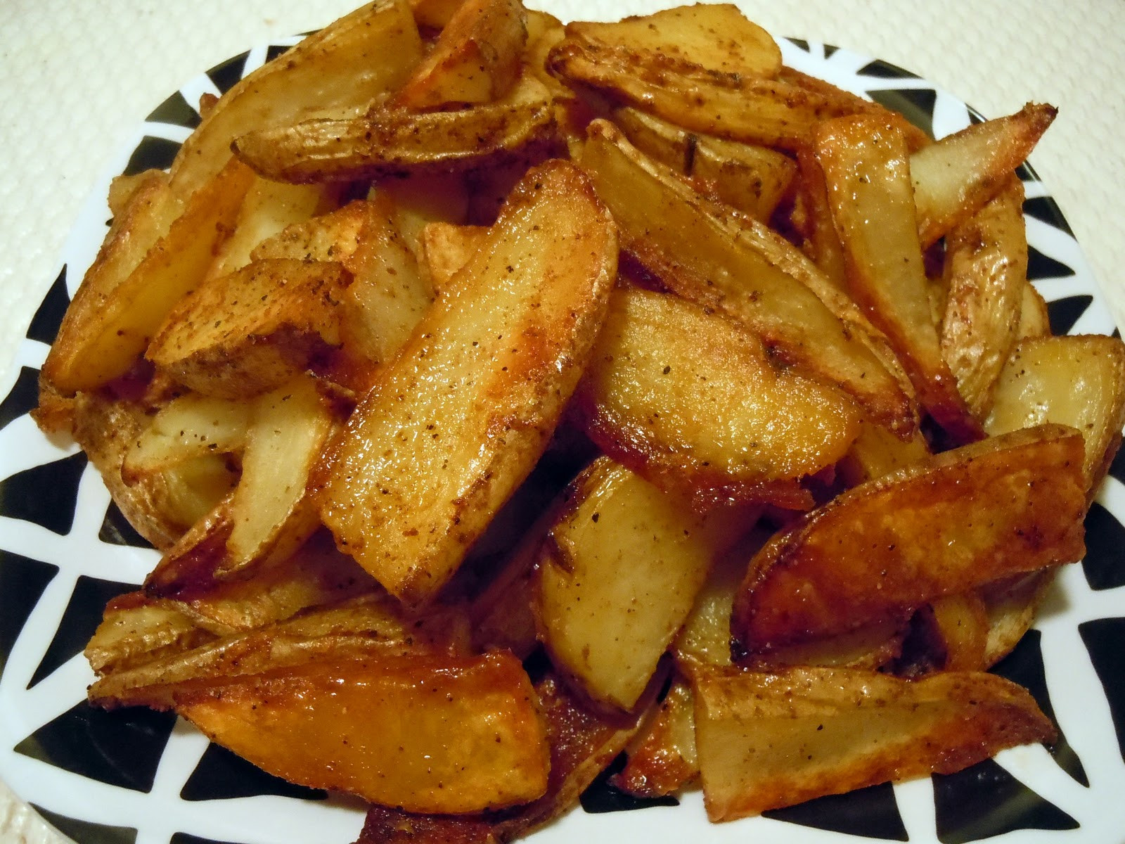 Oven Potato Wedges  Oven Baked Potato Wedges 375