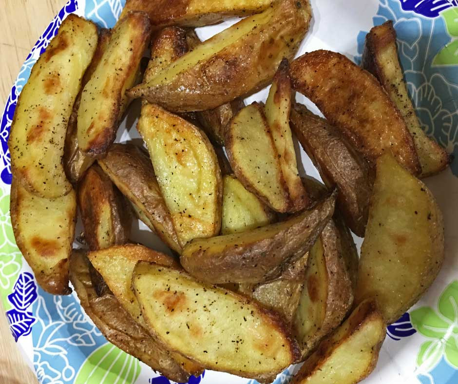 Oven Potato Wedges  Oven Roasted Potato Wedges Recipe Oven baked potato