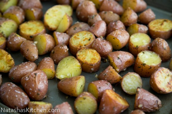 Oven Roasted Baby Potatoes  Easy Oven roasted baby red potatoes
